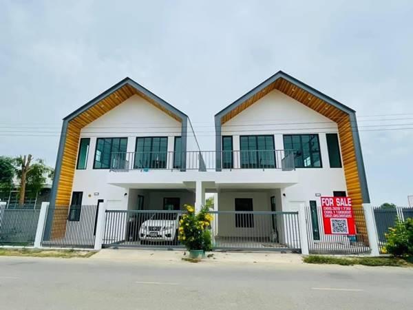 ขายบ้าน ติดแม่น้ำ กาญจนบุรี เขตเมืองท่ามะกาหลัง รพ.มะการักษ์ รร.สารสาสน์ บ้านสวยมาก บรรยากาศดี