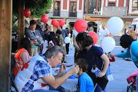 Actividades de Cruz Roja en Herriko Plaza