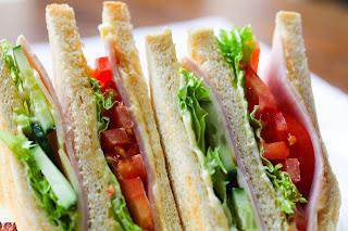 Easy dinner recipes for the beginners-Vegetable sandwich.