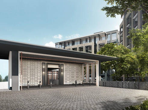 Mayfair Modern - Drop Off Entrance