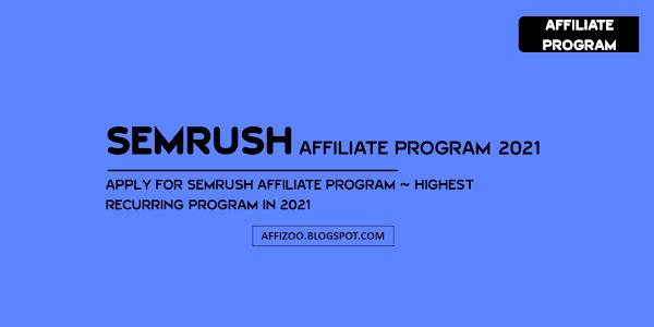 Semrush Affiliate Program 2021: How To Make Money With Semrush [Over $300k]