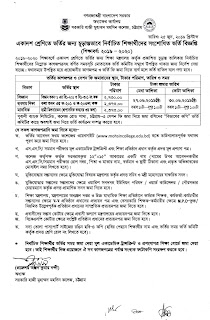 Mohsin College HSC admission notice 2019
