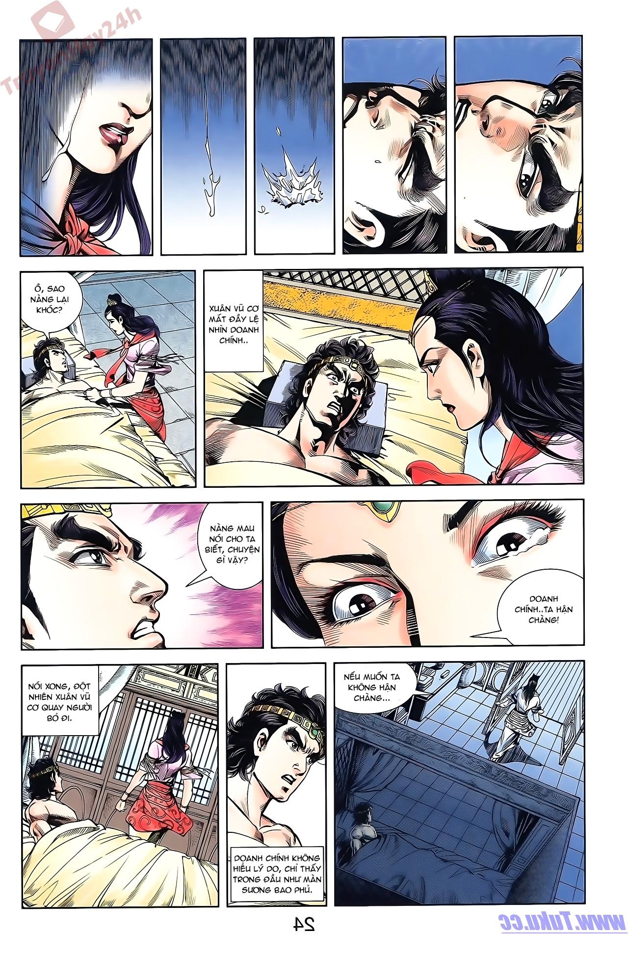 Tần Vương Doanh Chính chapter 50 trang 24