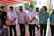 PT. MSM/TTN Bantu Pencegahan Stunting di Kota Bitung. Walikota :Terimakasih,  Ini Aksi Nyata Kepada Masyarakat Bitung