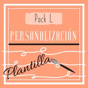 Cartel Pack L (personalización de plantilla)