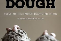 Healthy Black Velvet Cookie Dough