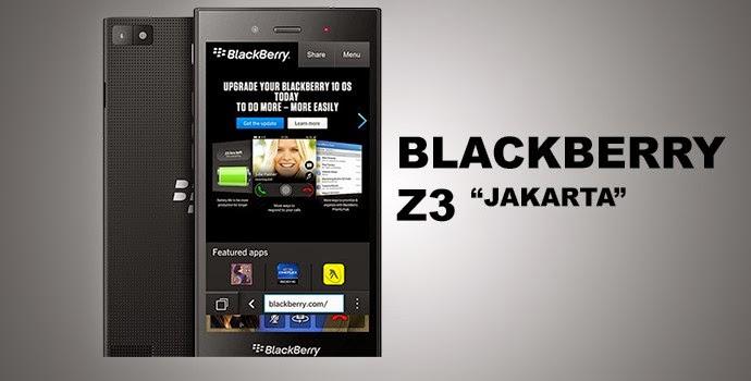Informasi tentang Harga baru maupum bekas dan Spesifikasi BlackBerry Z3 Jakarta