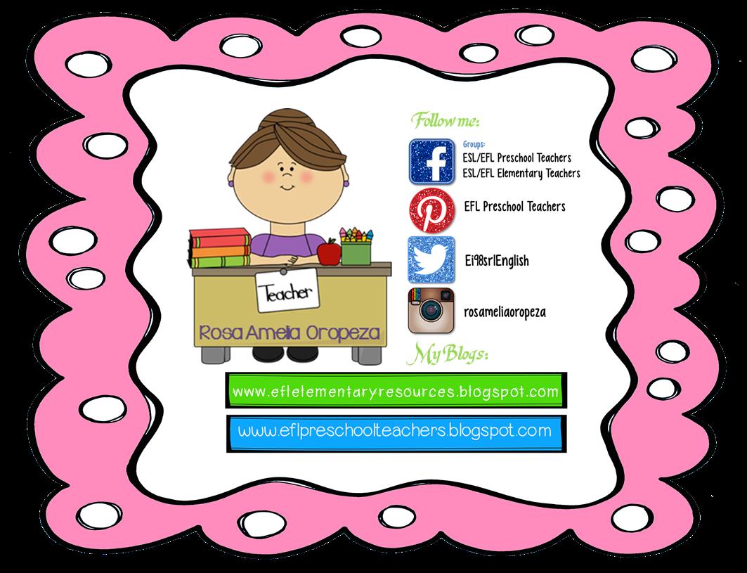 Esl Efl Preschool Teachers Easter Ideas For Preschool Ell
