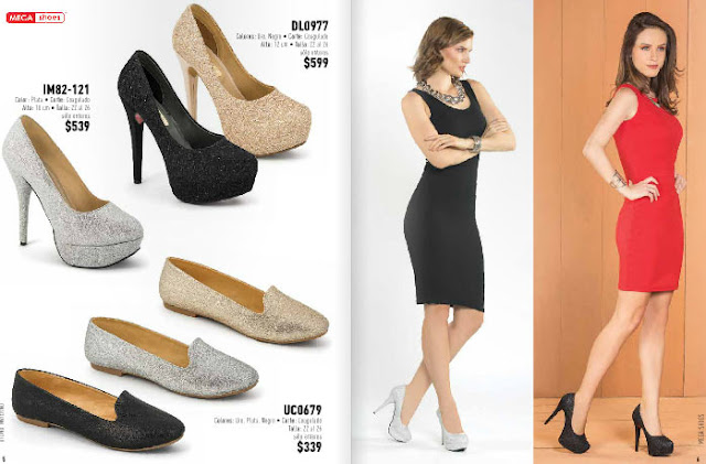 Megashoes zapatos damas 2018  catalogo