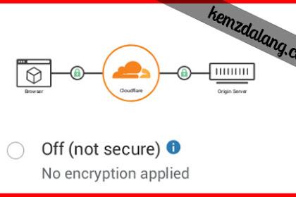 CloudFlare: Cara Mendapatkan SSL Gratis - Setting Name Server