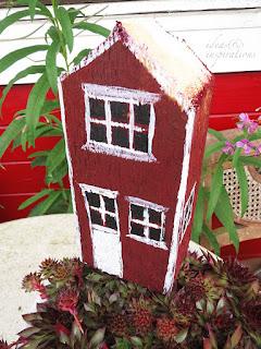 Holzhäuser selber malen