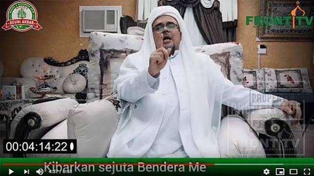 Habib Rizieq di Reuni 212: 2019 Ganti Presiden