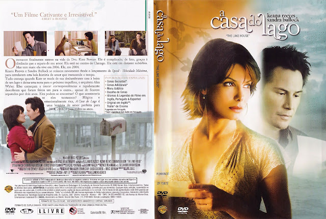Capa DVD A Casa do Lago