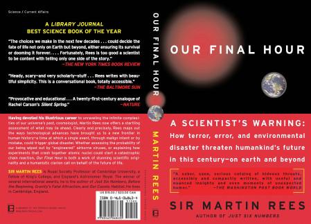 """مصادفة أم مؤامرة.. العالِم البريطاني """"مارتن ريس"""" توقع في كتابه """"ساعتنا الأخيرة"""" أن عام ٢٠٢٠ هو عام الخطأ البيولوجي الذي سيقتل مليون نسمة!"""