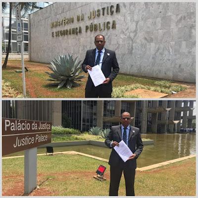 Prefeito de Jequié é denunciado no Ministério da Justiça pelos Vereadores da Minoria