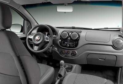Interior Fiat Palio Atractiv