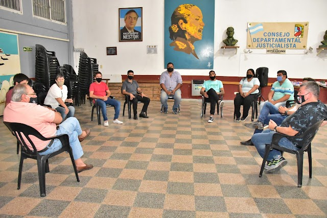 EL PJ CONCORDIA INICIA CAMPAÑA SOLIDARIA PARA LLEVAR ÚTILES ESCOLARES A MERENDEROS Y COMEDORES COMUNITARIOS