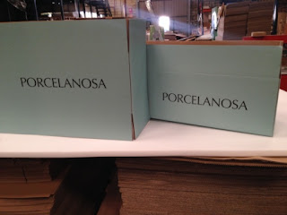 cajas de carton porcelanosa.