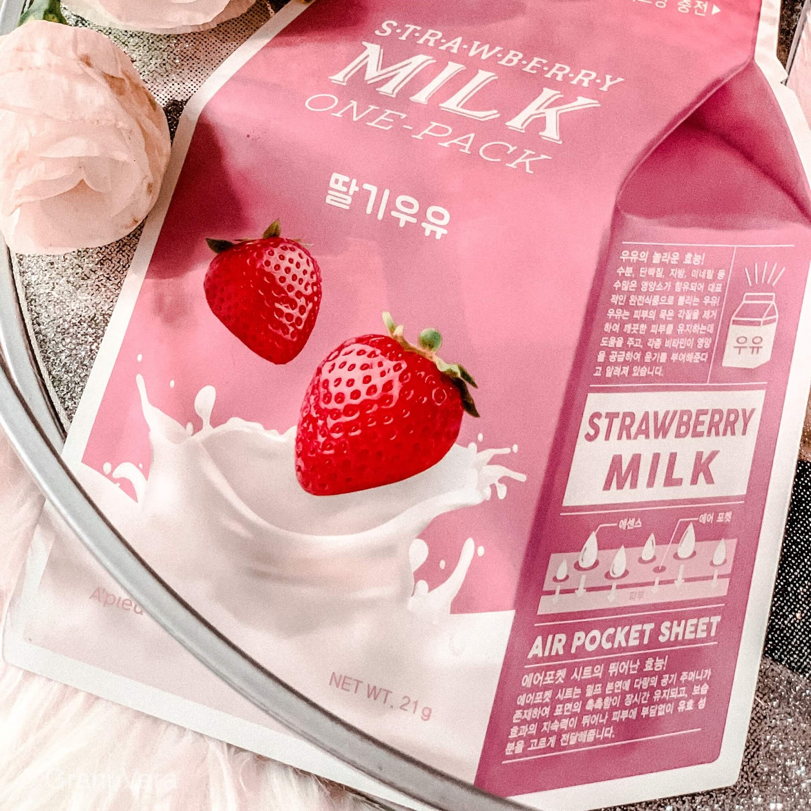 Apieu STRAWBERRY MILK ONE PACK