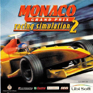 Monaco Grand Prix 2 cover art