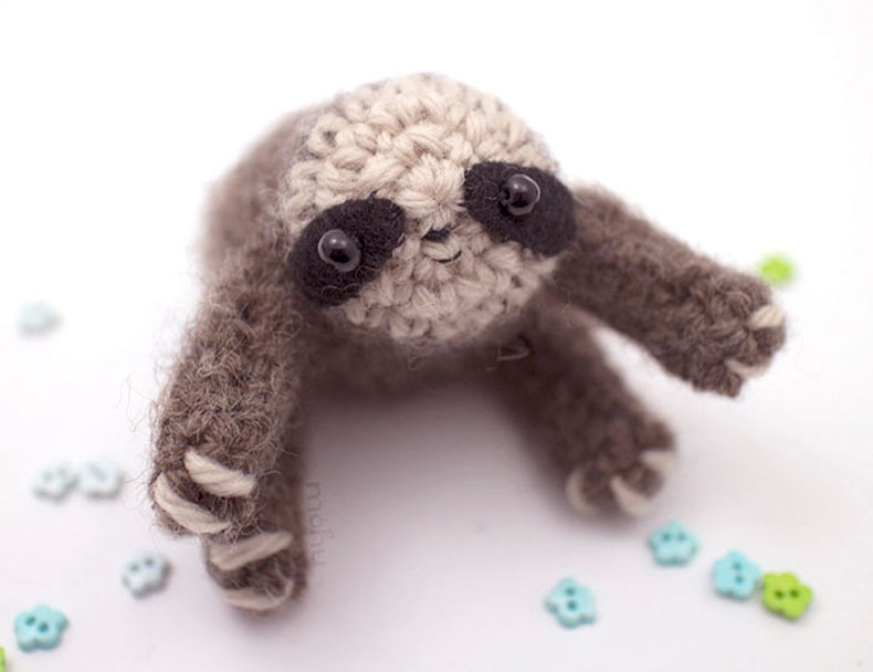 Crochet de animales diminutos por el Mohustore