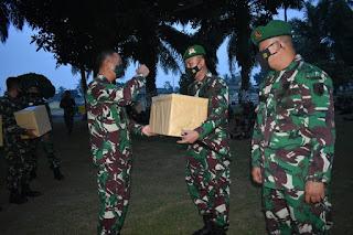 Danrem 043/Gatam Kunjungan Kerja  Ke Batalyon Infanteri 143/ TWEJ