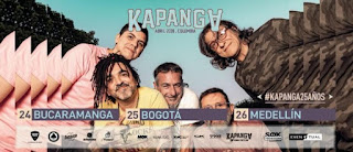 Concierto de KAPANGA en Colombia