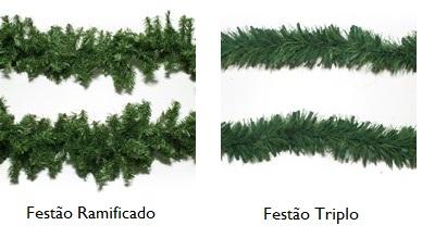 Tipos de festão de natal