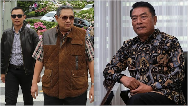 SBY Dinilai Beri Sinyal ke Moeldoko: Aku Lawanmu Bukan AHY!