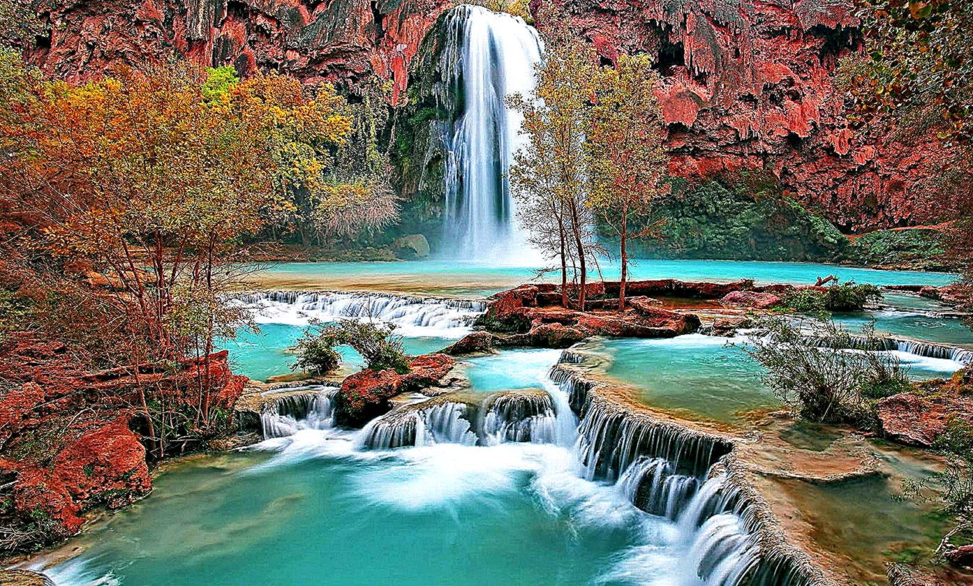 Beautiful Waterfall Screensavers Wallpaper