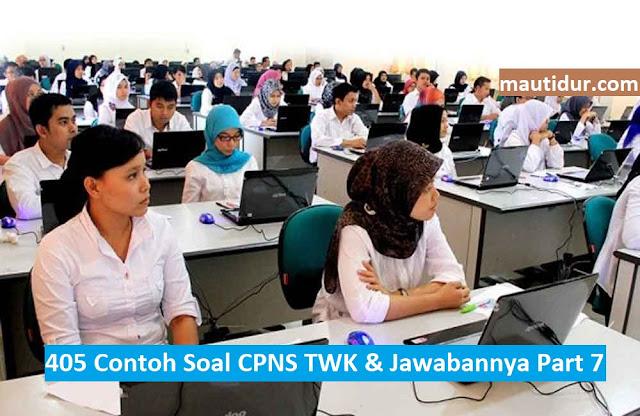 405 Contoh Soal CPNS TWK & Jawabannya Part 7