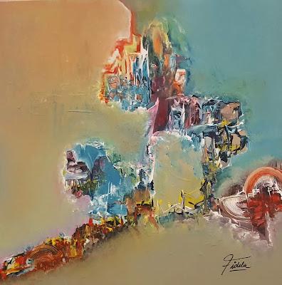 fidela losada florez pintura abstracta