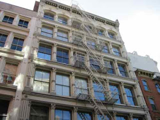 102 Prince Street In Manhattan Where The Movie Ghost Was Filmed.