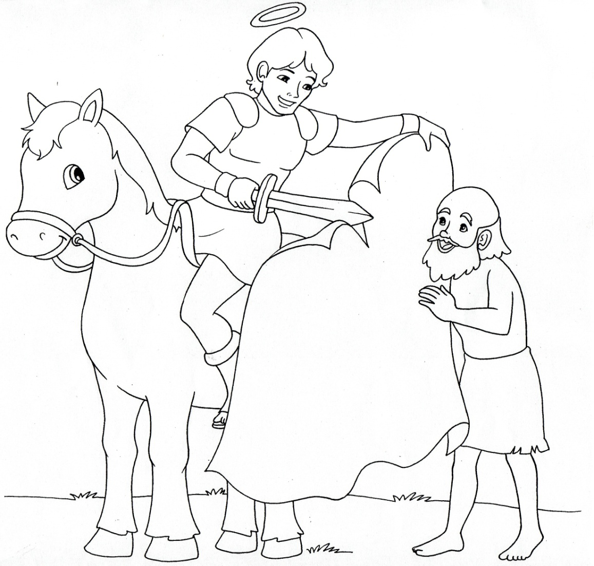 Saint Joan Of Arc Coloring Pages Coloring Pages