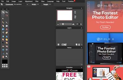 موقع pixlr editor