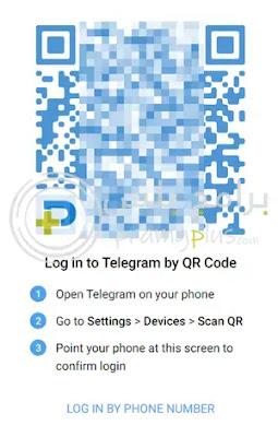 رمز الدخول تليجرام ويب