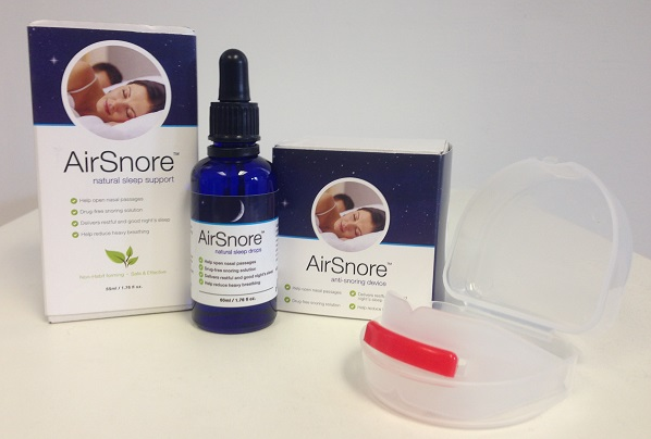 AirSnore Stops Snoring, Making a Bad Night's Sleep a Thing of the Past