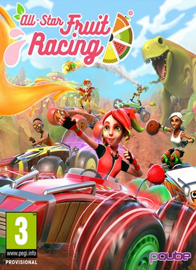 โหลดเกมส์ All-Star Fruit Racing