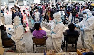 उत्तर प्रदेश में कोविड-19 के 48 मरीजों की मौत, 12,787 नये मामले  | #NayaSaberaNetwork