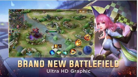 Daftar Game MOBA Terbaik di HP Dengan Grafik HD!