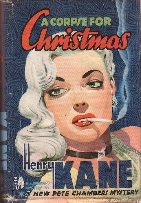 Pretty Sinister Books: FFB: A Corpse for Christmas - Henry Kane