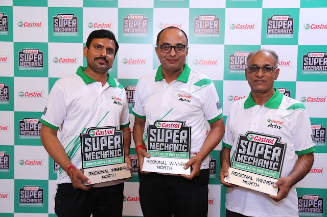 (L-R) Rajesh Kumar from Chandigarh; Mangat Chandel from Ludhiana; Satish Kumar from Delhi