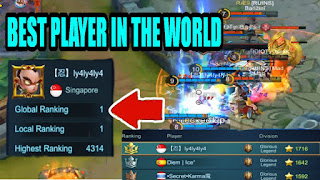 How to see our rank in mobile legends