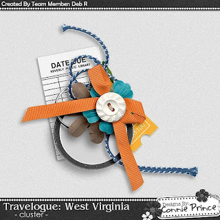 Guest Creative Team (October), Annemarie, for Connie Prince ? Travelogue West Virginia and Coordinating Freebie