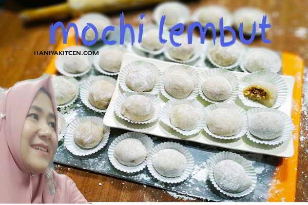 Resep Mochi Lembut Kenyal