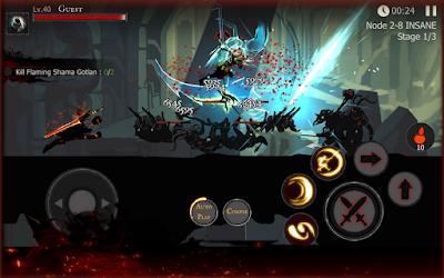 Shadow of Death v1.40.1.0 [MOD Unlimited Crystal,Skull] Apk Free Download