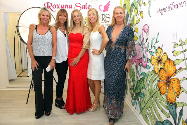 Roxana Salerno y Ornella Bono despidieron el año en su atelier