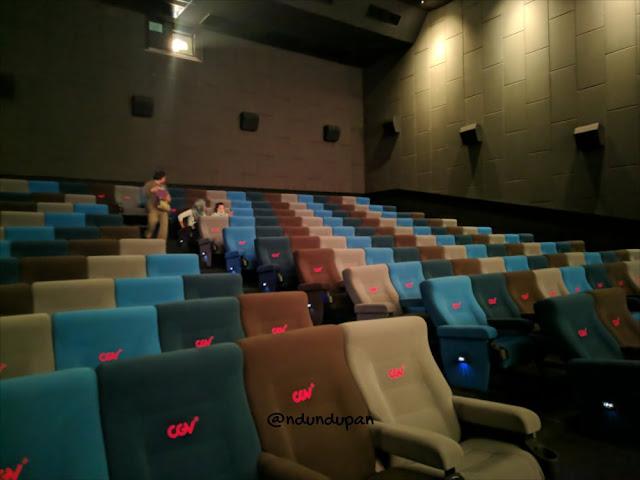 Kursi di CGV Cinema Blitar Square Mall