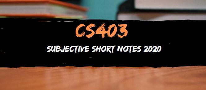 CS403