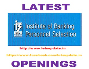 JOBS-IBPS-LETSUPDATE
